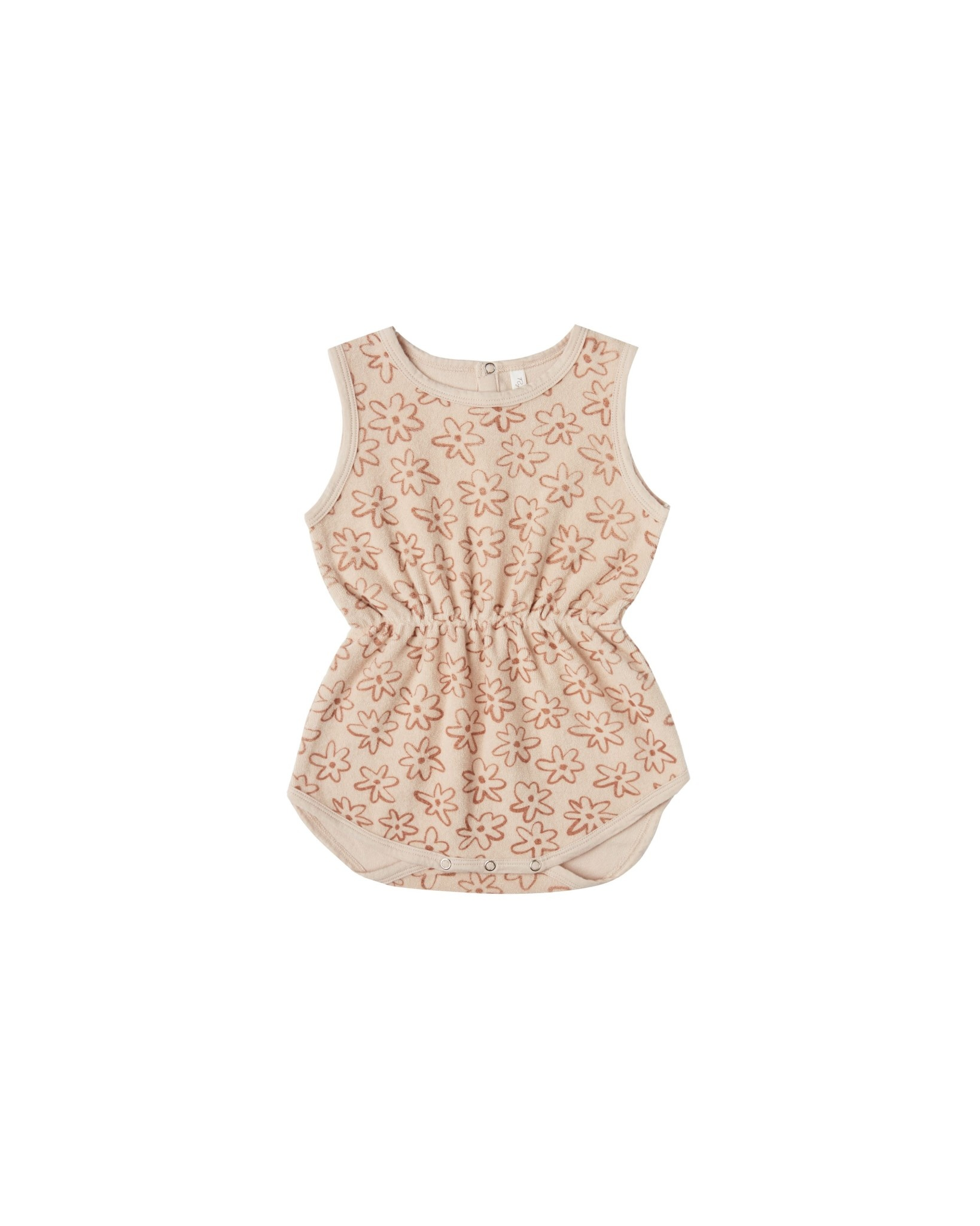 RYLEE AND CRU Flower Outline Cinch Playsuit