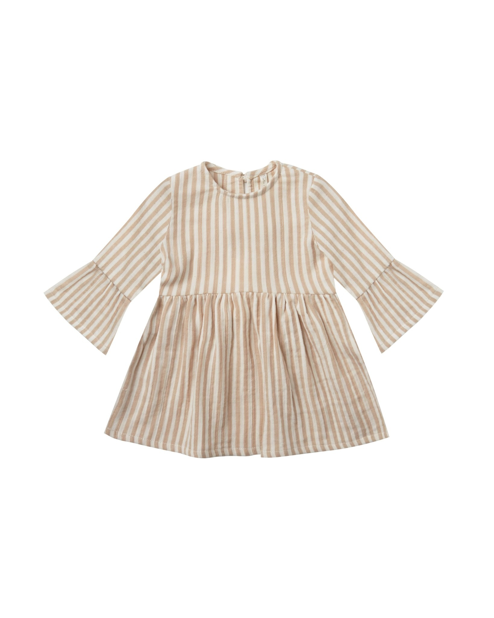 RYLEE AND CRU Striped Bell Dress