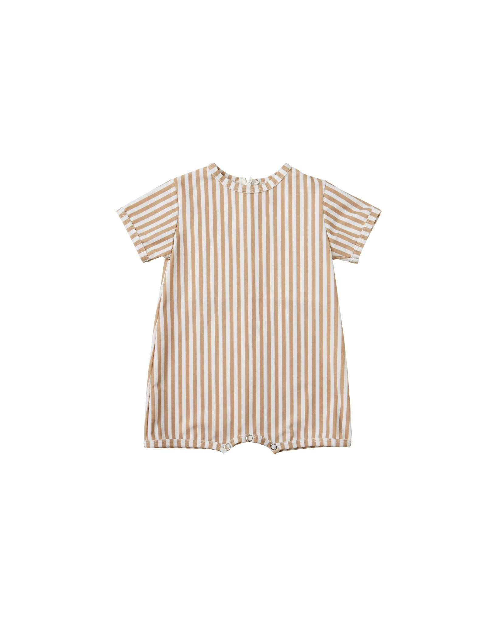 RYLEE AND CRU Striped Shorty Onepiece