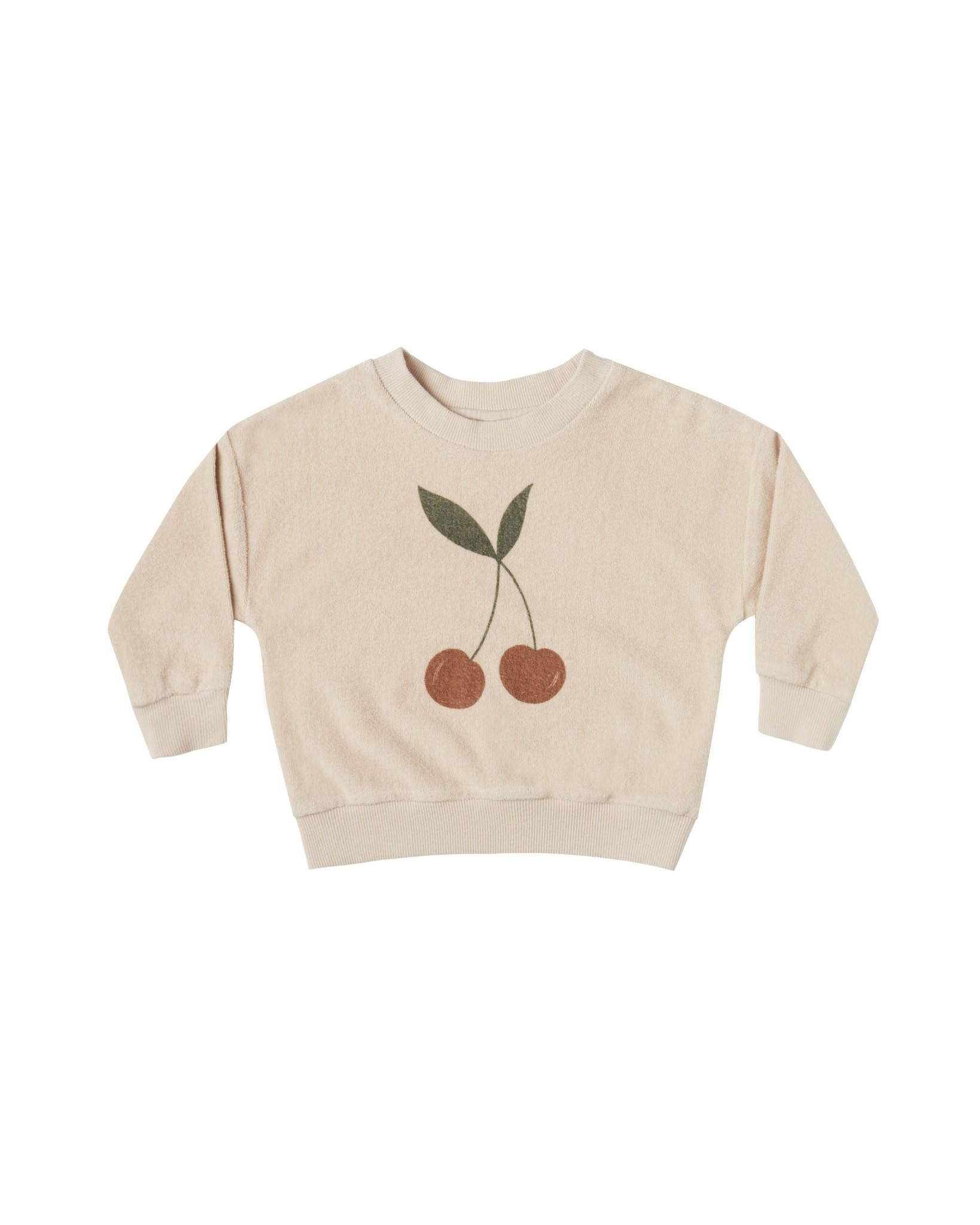 RYLEE AND CRU Cherry Baby Crew Neck