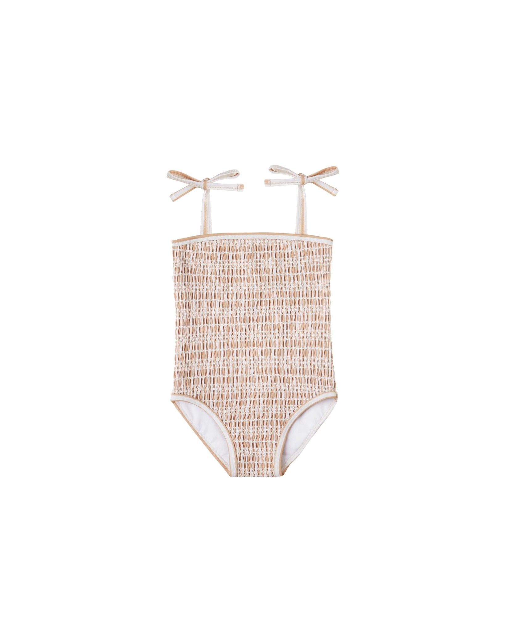 RYLEE AND CRU Striped Smocked Onepiece