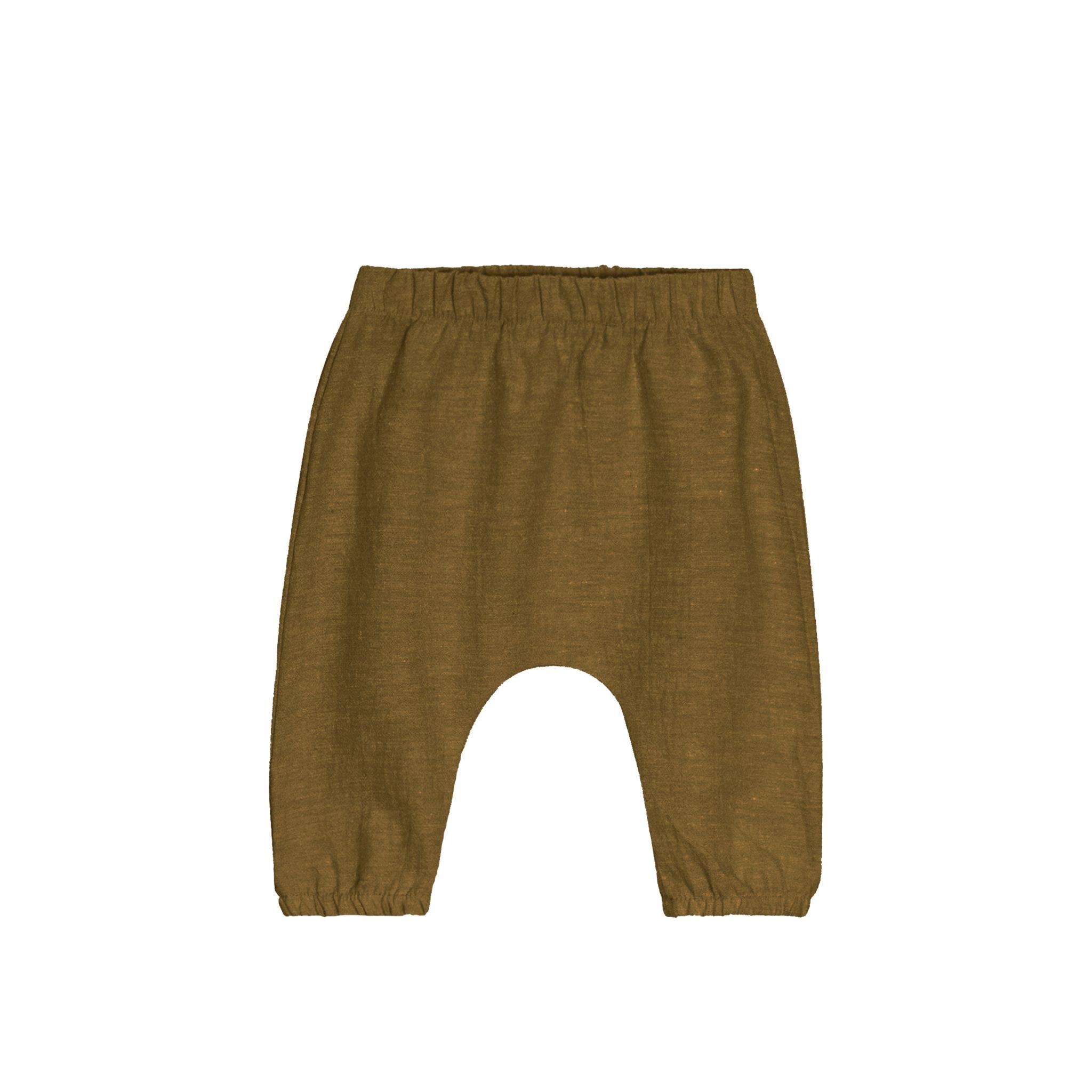 GOGENTLYNATION Woven Baby Pant