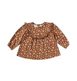 RYLEE AND CRU Ditsy Victoria Baby Blouse