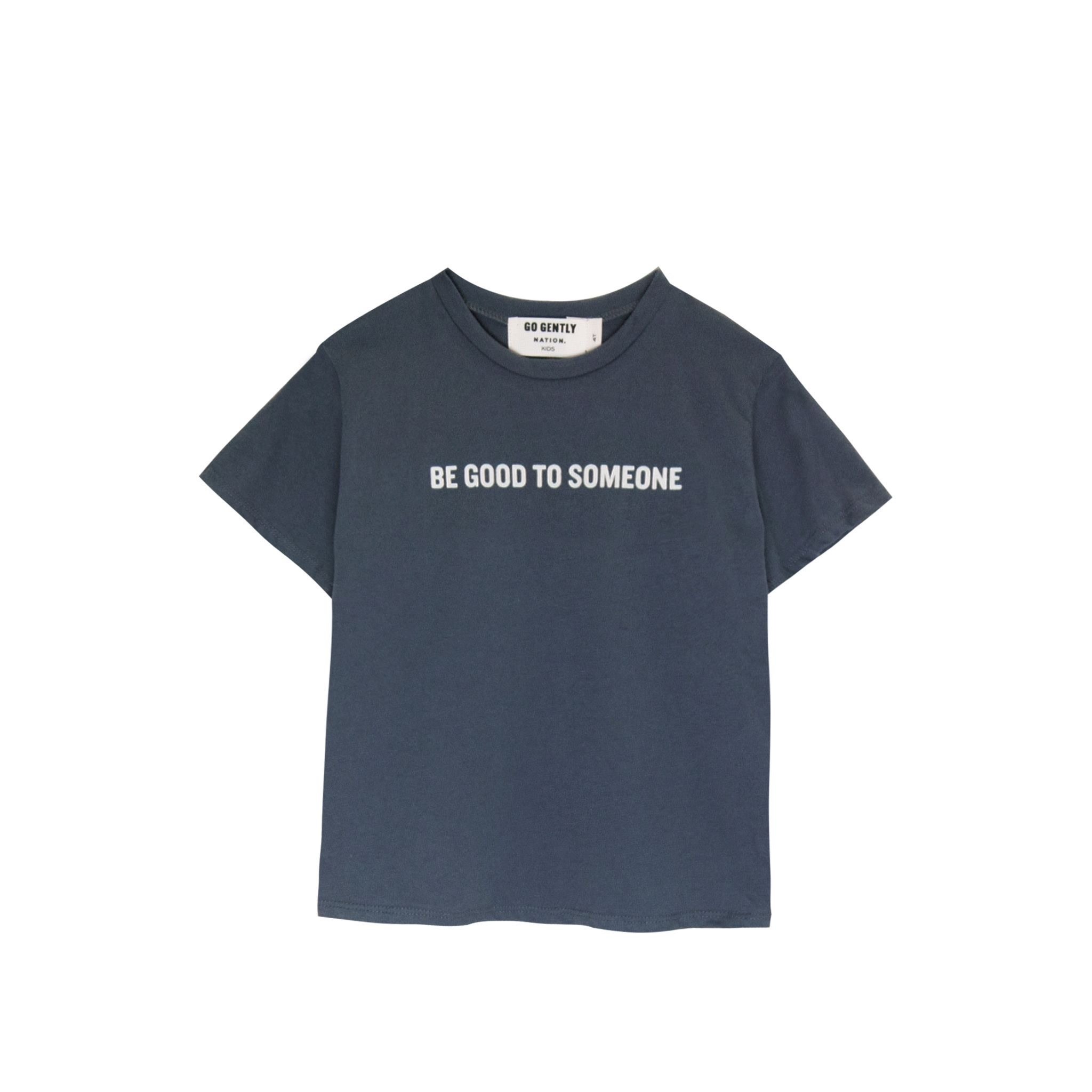 GOGENTLYNATION Be Good To Someone Baby Tee
