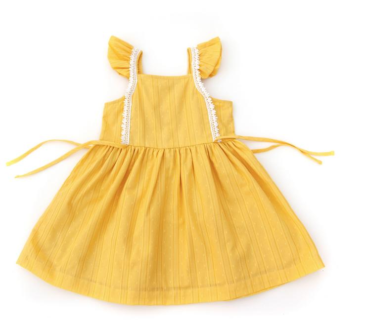 LALI KIDS Pinafore Dress