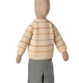 MAILEG Rabbit Size 5, Pants And Knitted Sweater