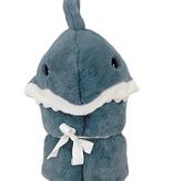 MON AMI Seaborn Plush Shark Hooded Blanket