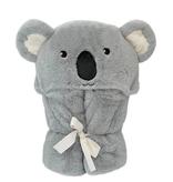 MON AMI Koala Plush Hooded Blanket