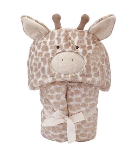 MON AMI Gentry The Giraffe Hooded Blanket