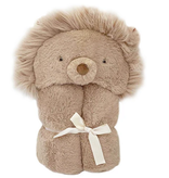 MON AMI Luca The Lion Hooded Blanket