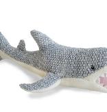 MON AMI Seymour Shark Knit Stuffed Animal