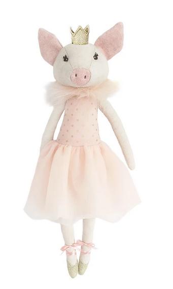 MON AMI Penelope Pig Ballerina