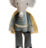 MON AMI Elroy Elephant Prince Heirloom Doll