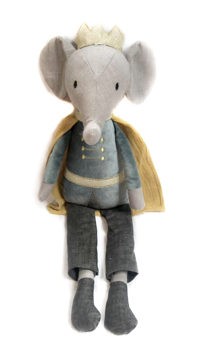 MON AMI Elroy Elephant Prince Heirloom Doll