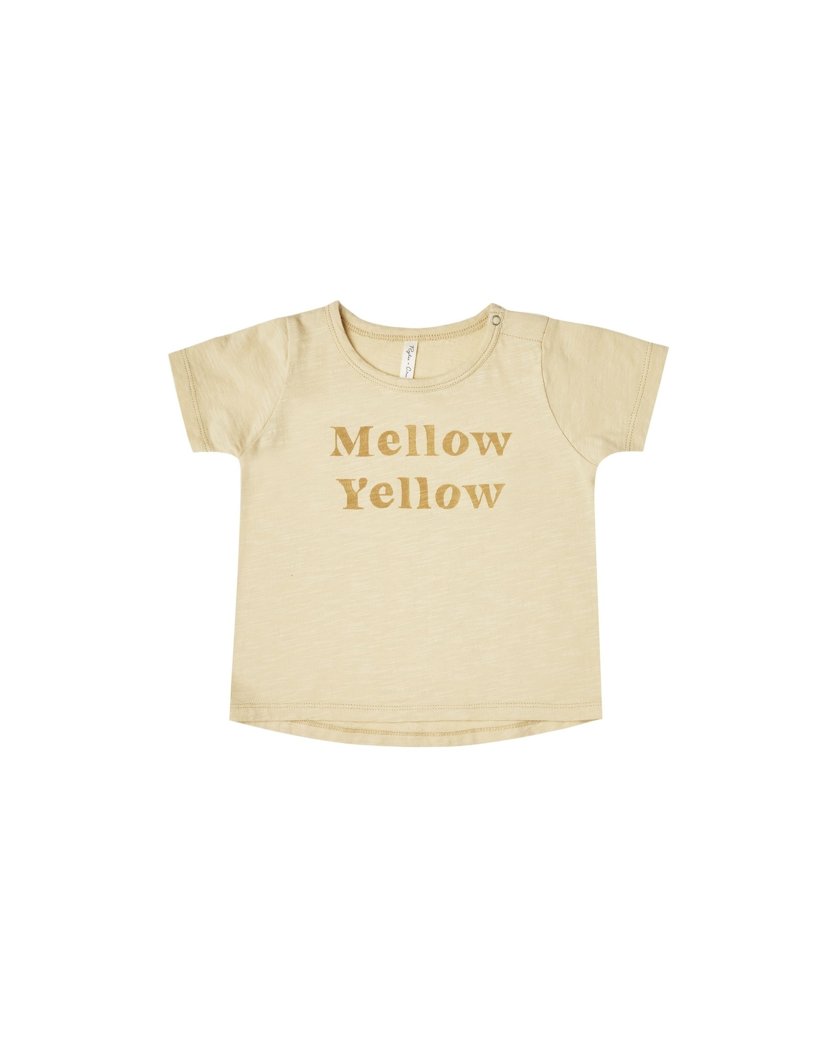 RYLEE AND CRU Mellow Yellow Baby Tee
