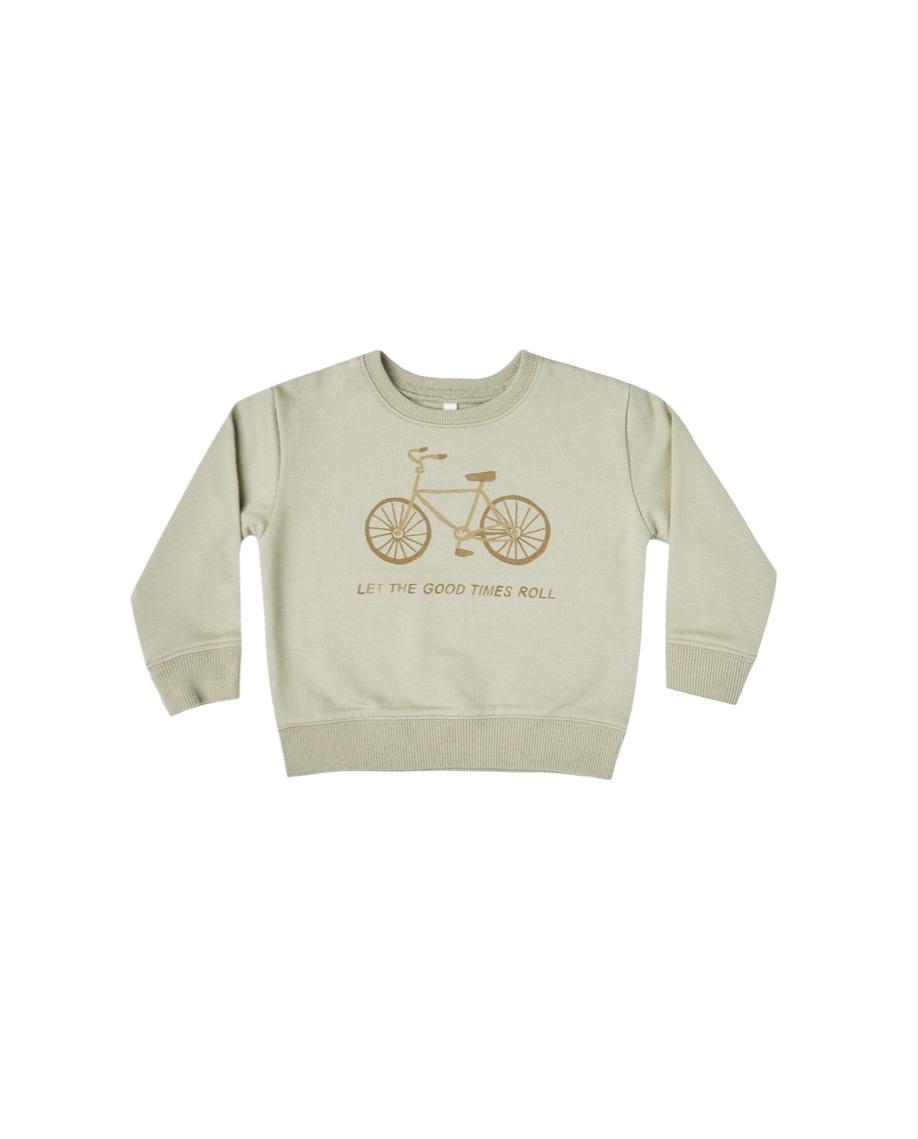 RYLEE AND CRU Bike Terry Sweatshirt