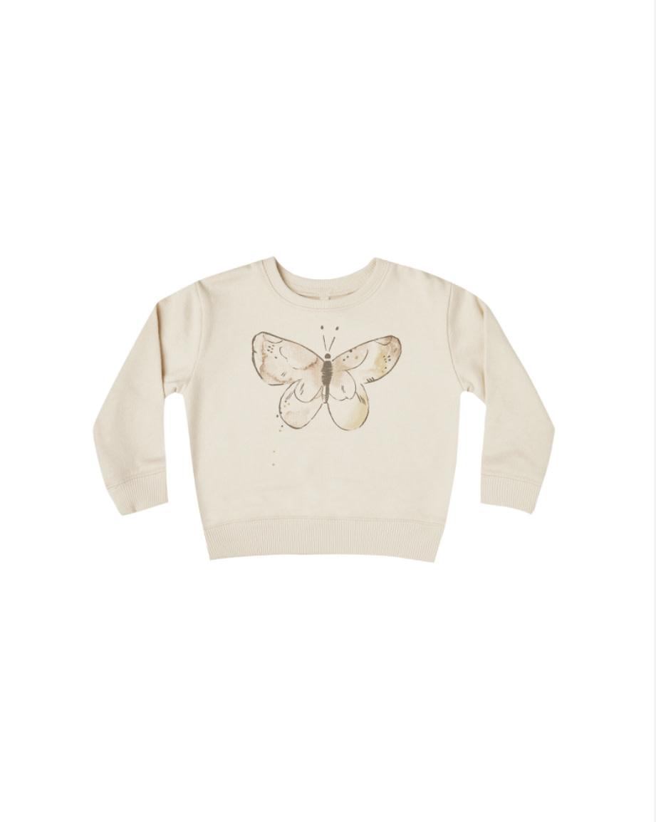 RYLEE AND CRU Butterfly Terry Sweatshirt