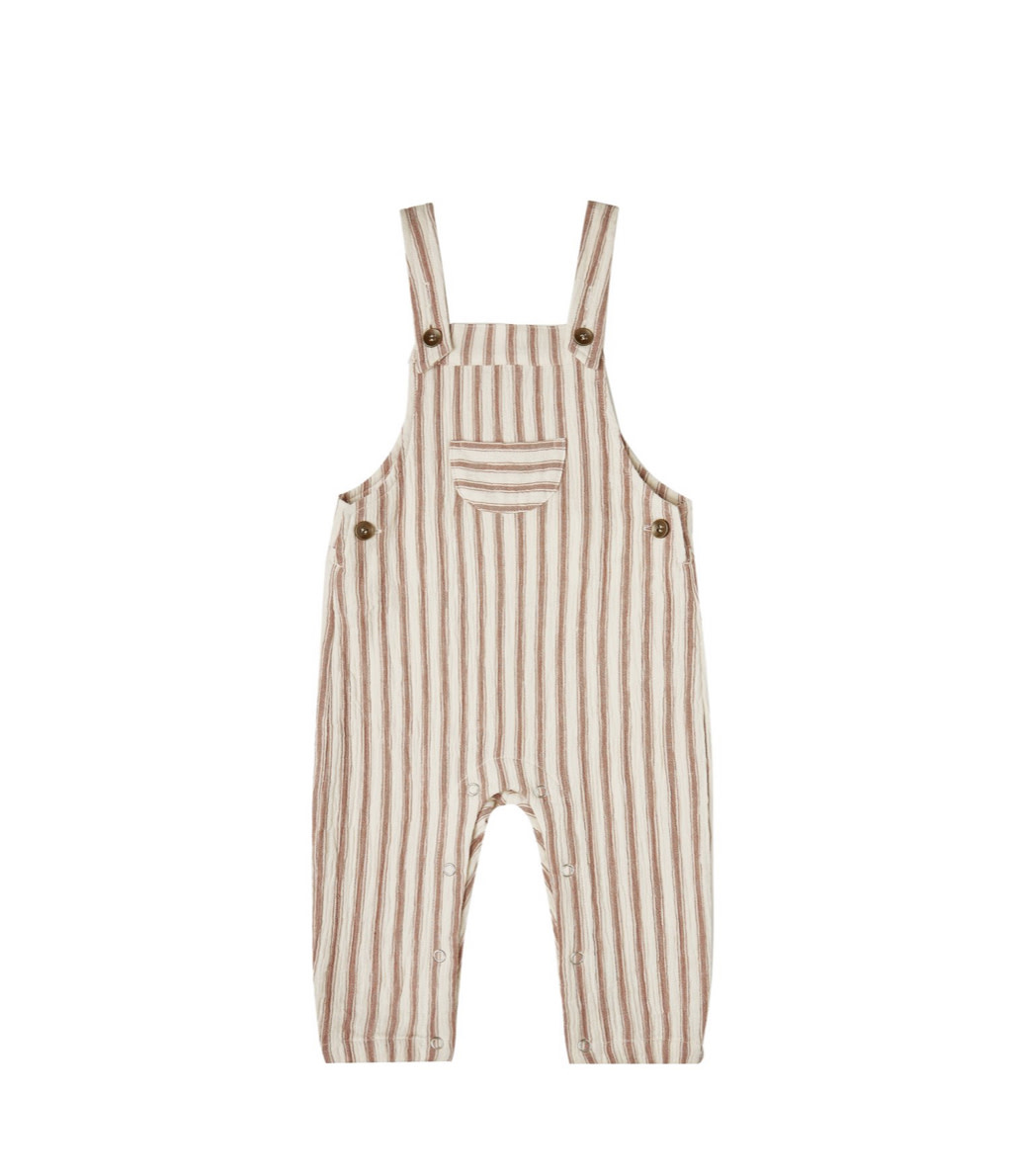 RYLEE AND CRU Striped Baby Overalls