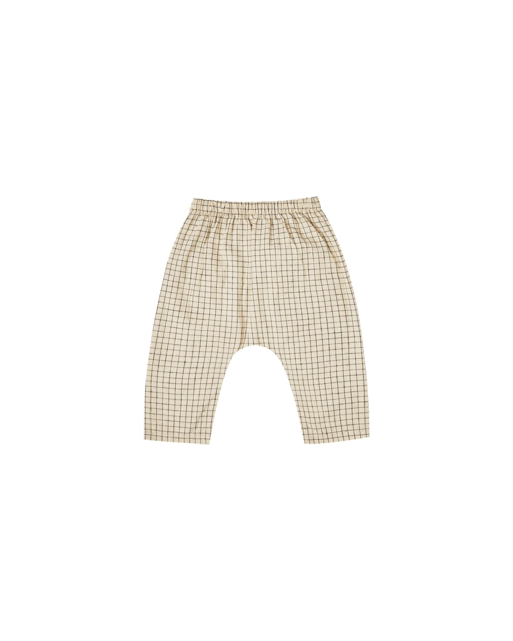 RYLEE AND CRU Grid Orion Harem Pants