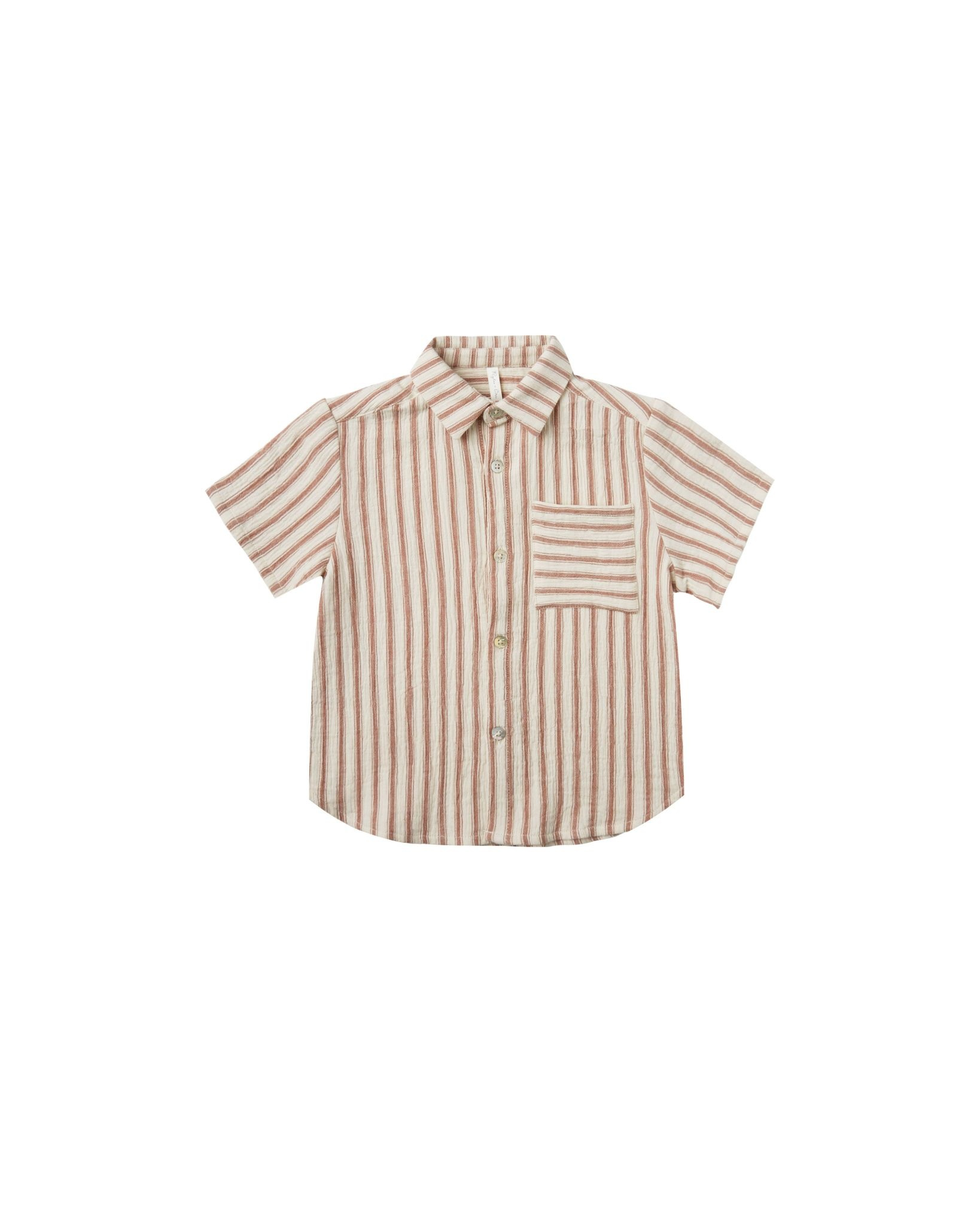 RYLEE AND CRU Striped Collared Shirt