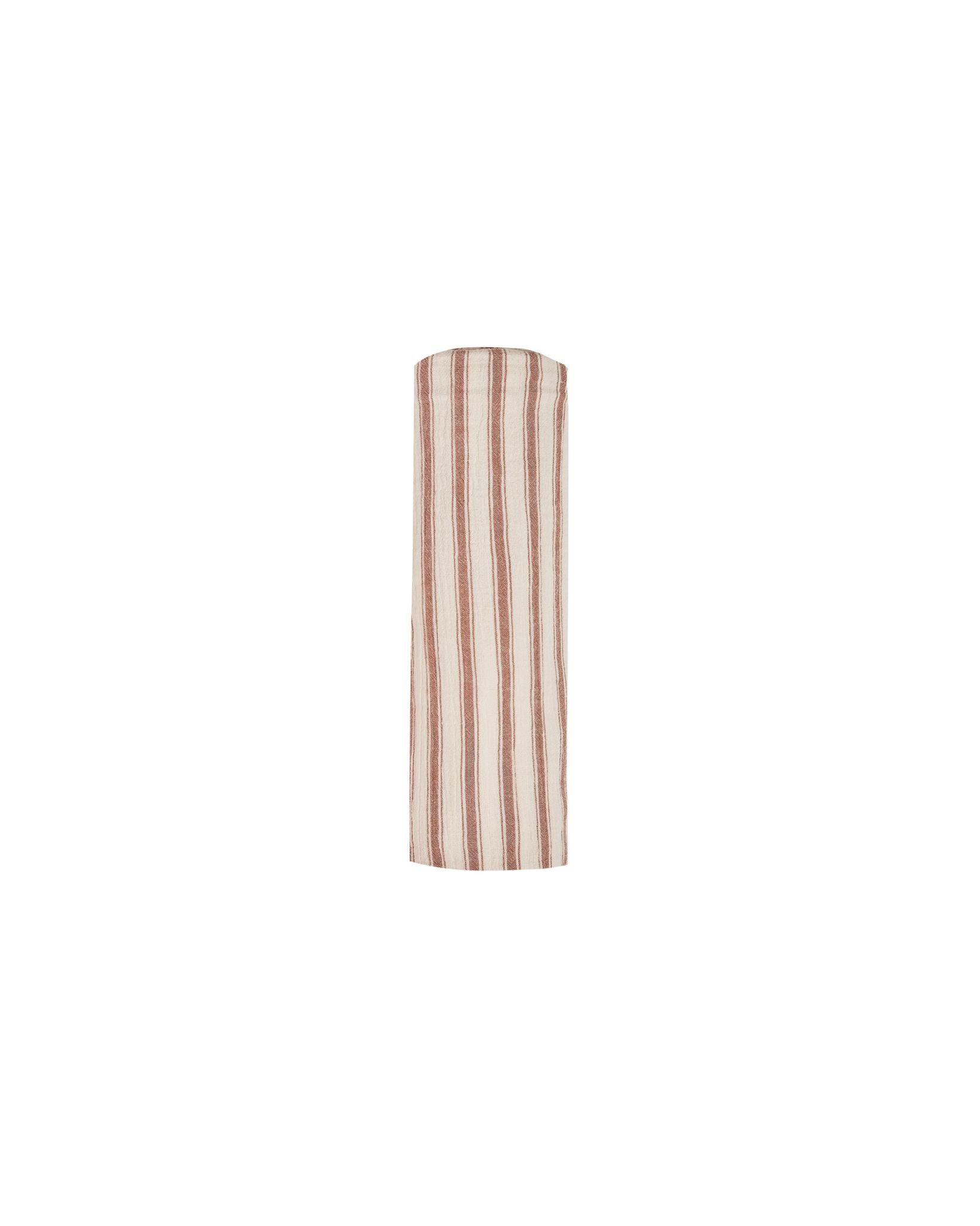 RYLEE AND CRU Striped Swaddle Amber