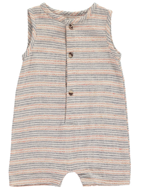 ME + HENRY Striped Woven Playsuit