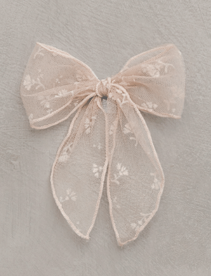 NORALEE Oversized Bow - Buttercup Daisy