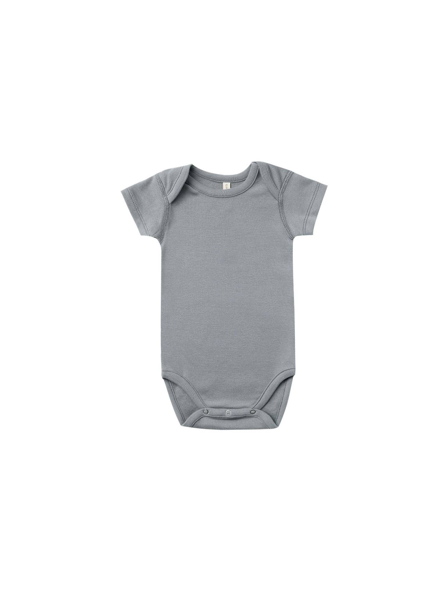 QUINCY MAE Short Sleeve Bodysuit