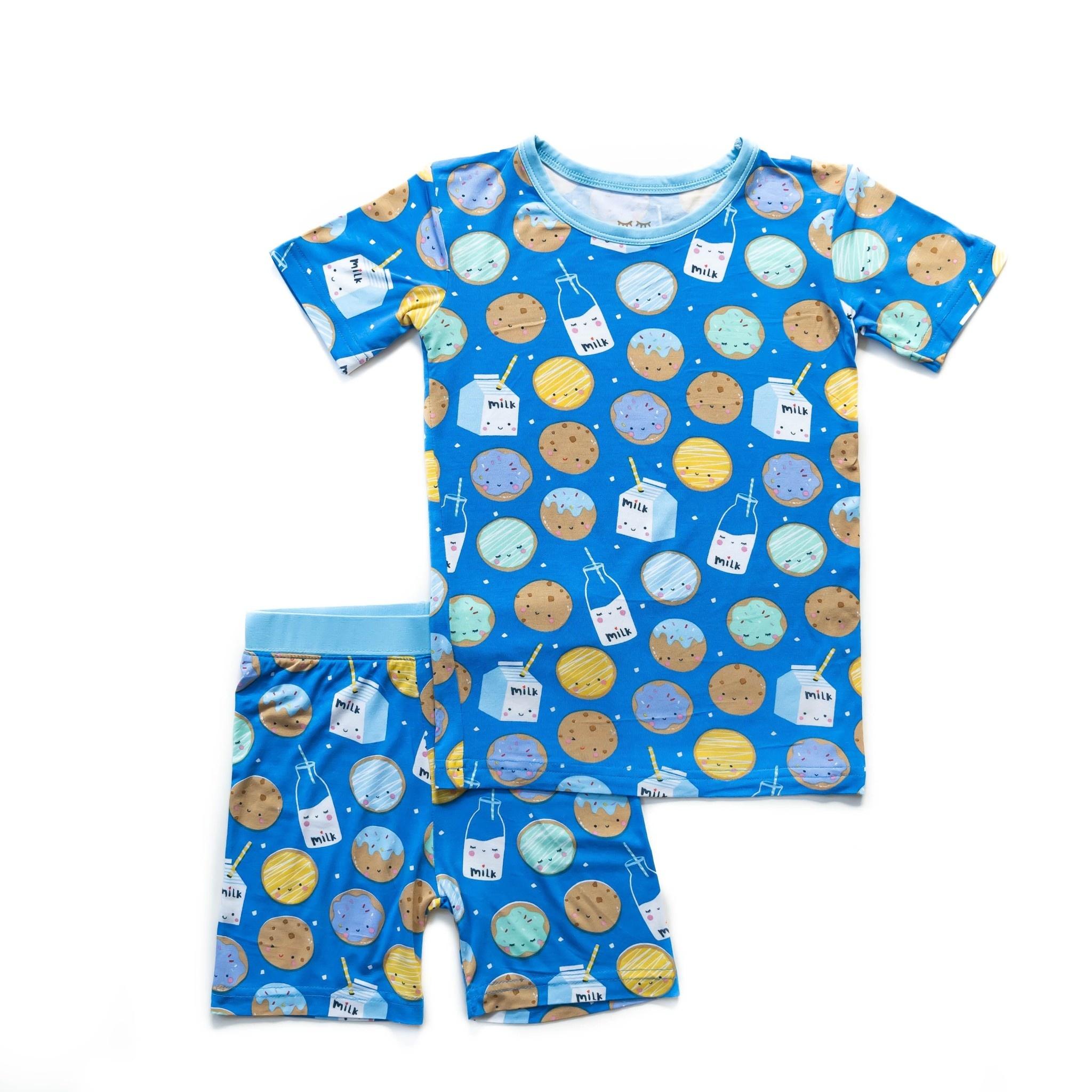LITTLE SLEEPIES Bamboo Viscose Pajama Set