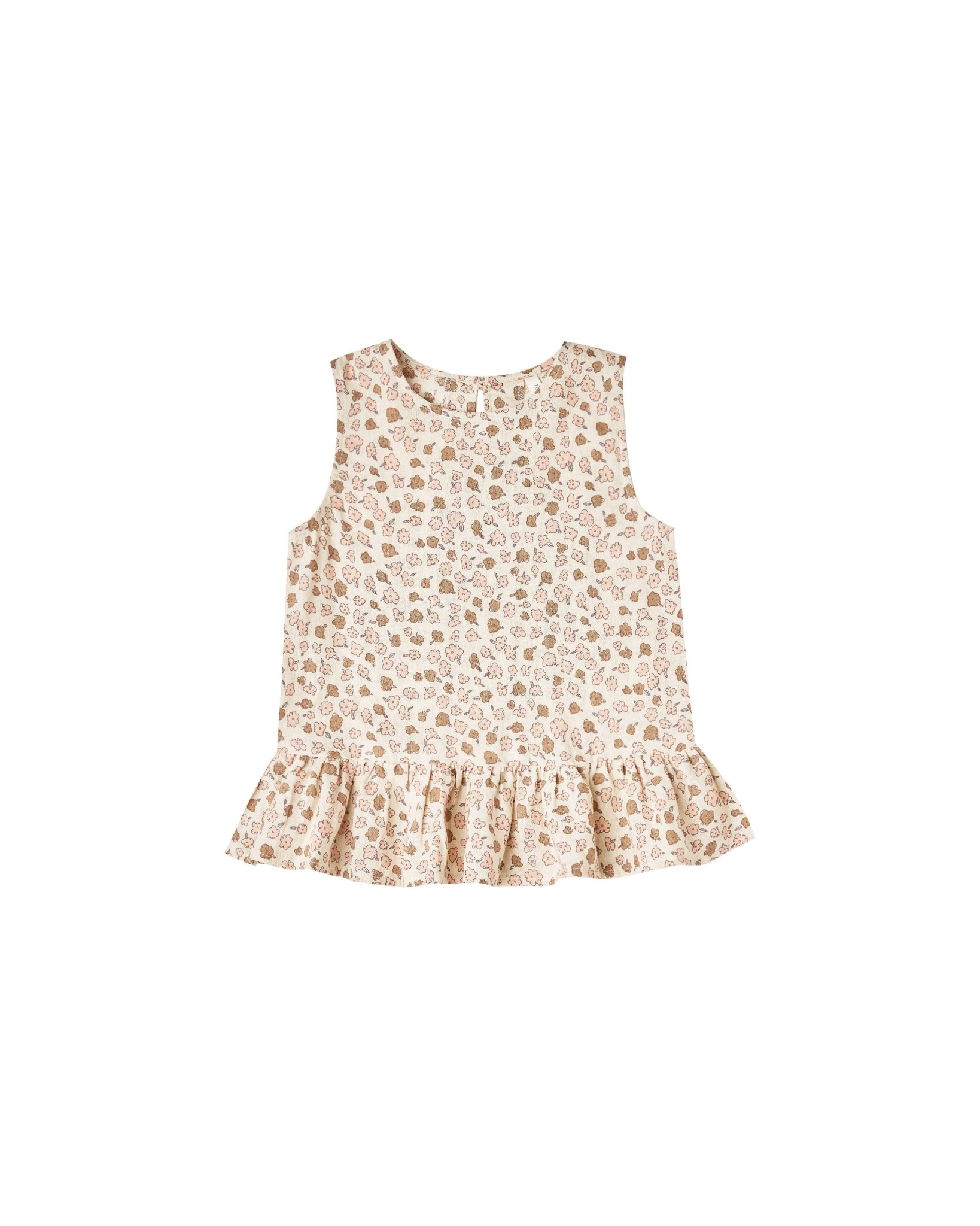 RYLEE AND CRU Delicate Flower Carrie Blouse