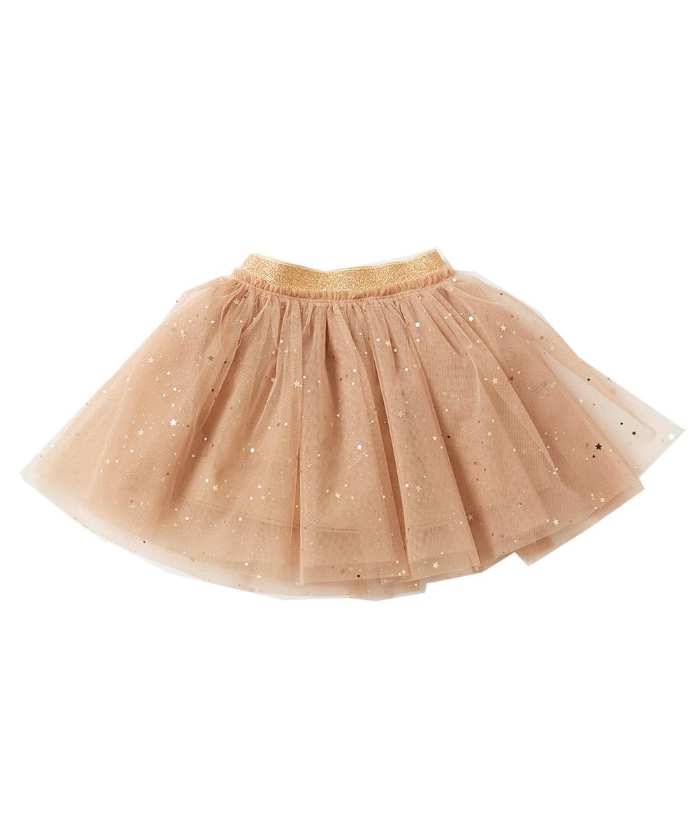 PETITE HAILEY Star Glitter Skirt