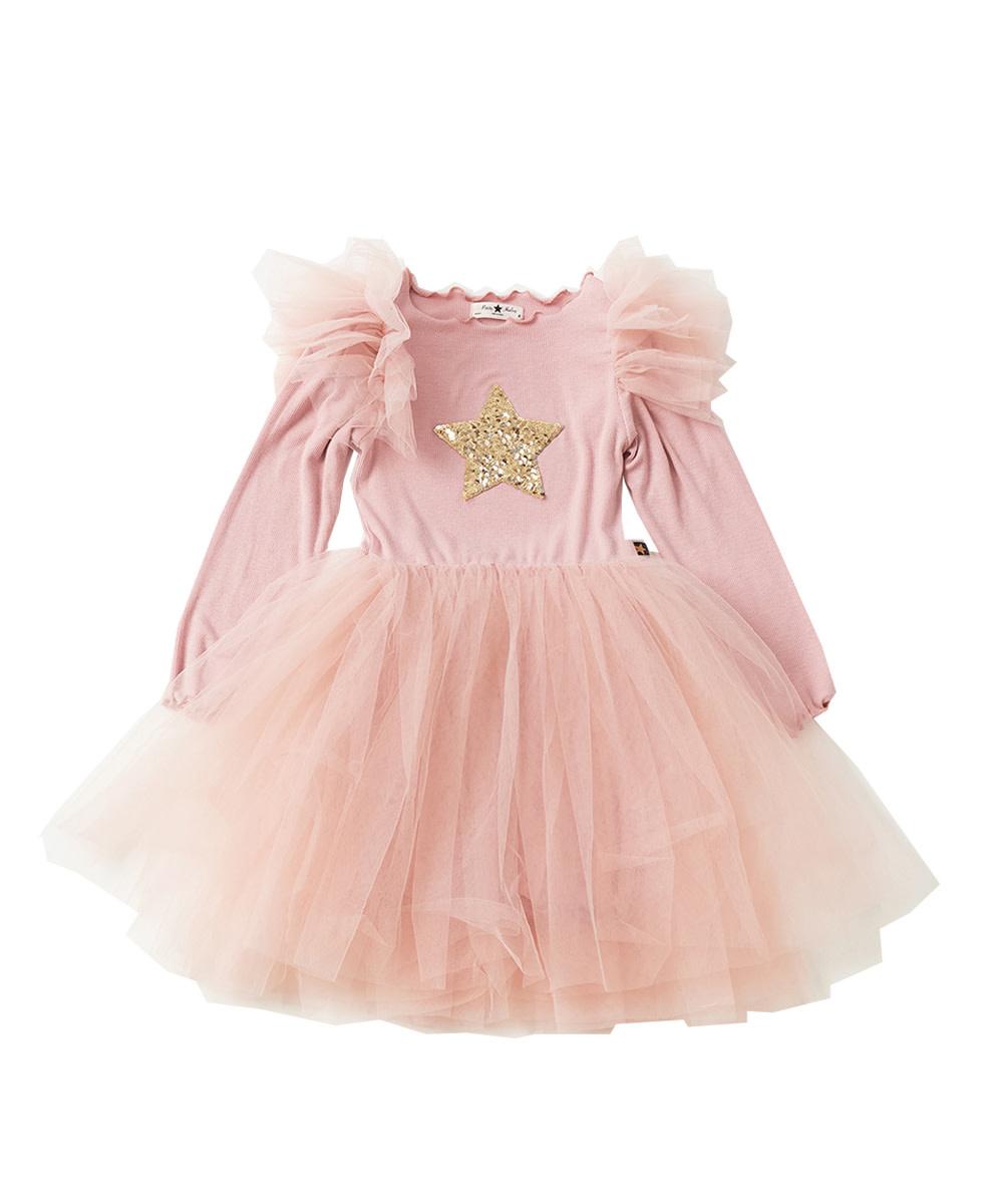 PETITE HAILEY Frill Tutu Dress