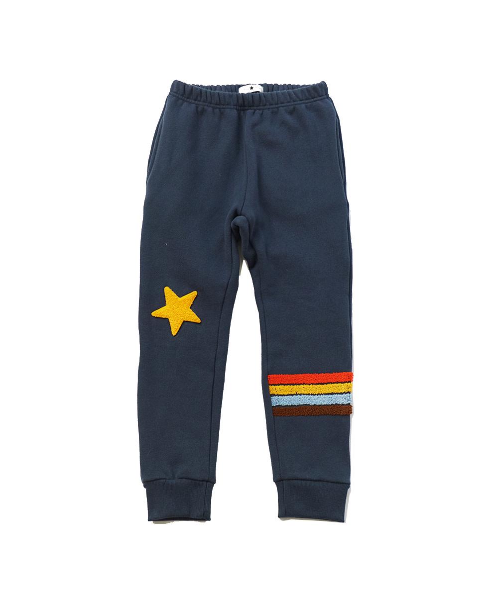 PETITE HAILEY Rainbow Star Sweatpants