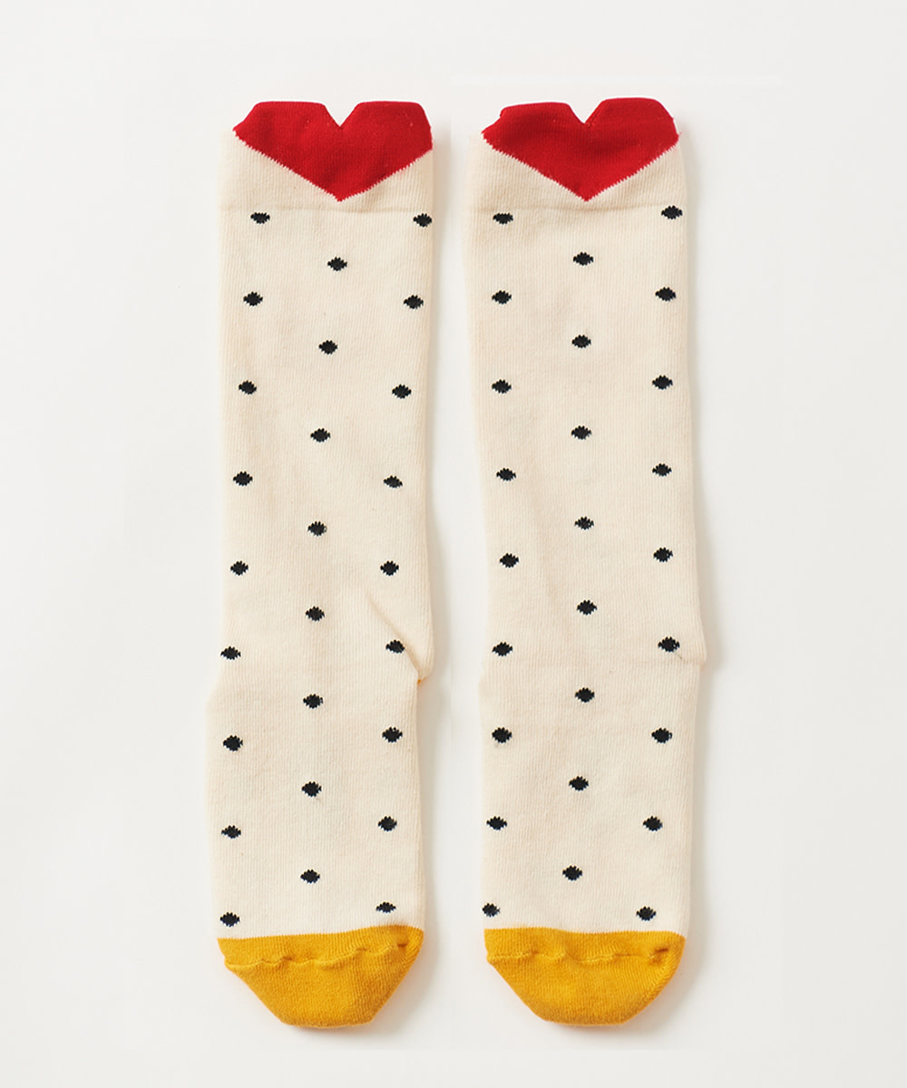 PETITE HAILEY Heart Knee-high Socks