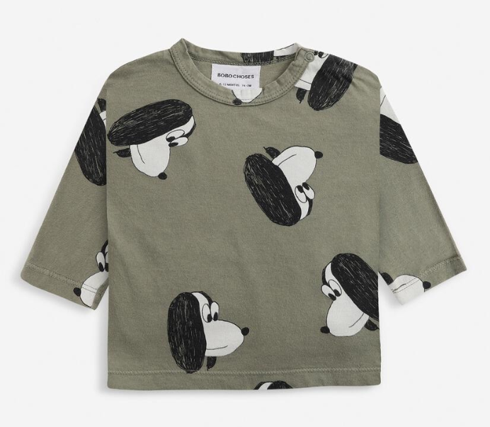 BOBO CHOSES All Over Long Sleeve T-Shirt