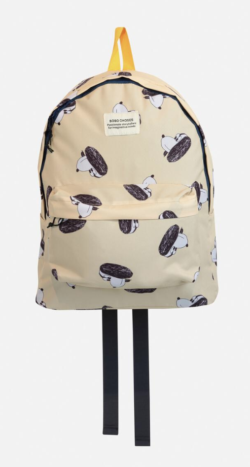 BOBO CHOSES Doggie All Over Back pack