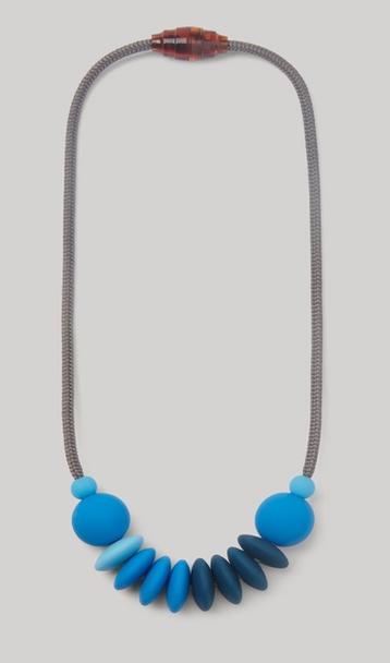 JANUARY MOON Cobalt Sensory Necklace