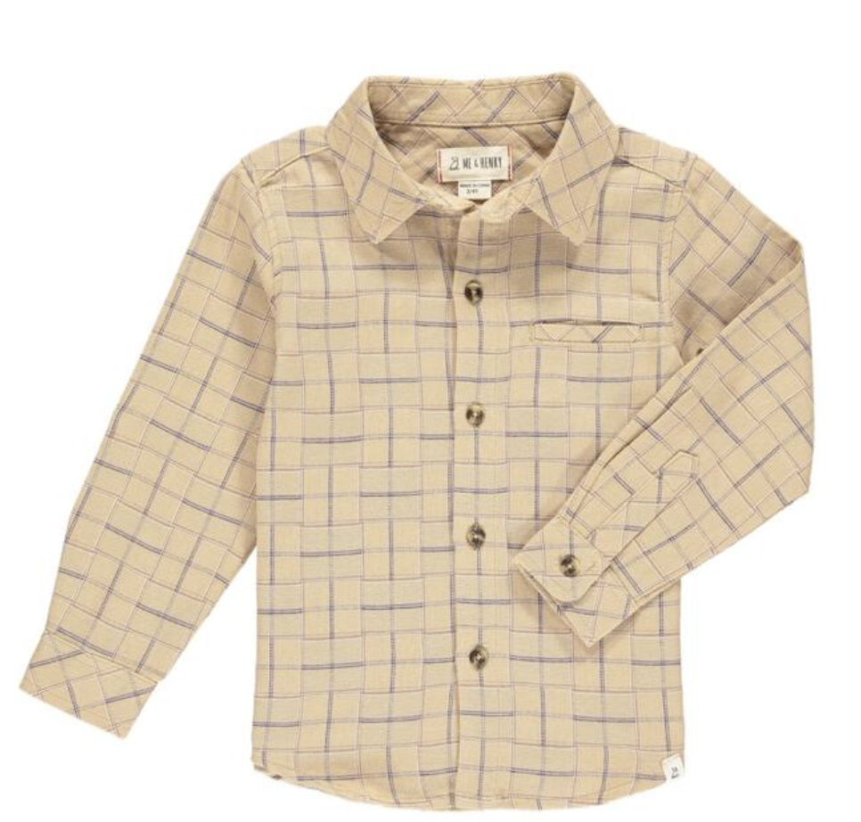 ME + HENRY Atwood Woven Shirt
