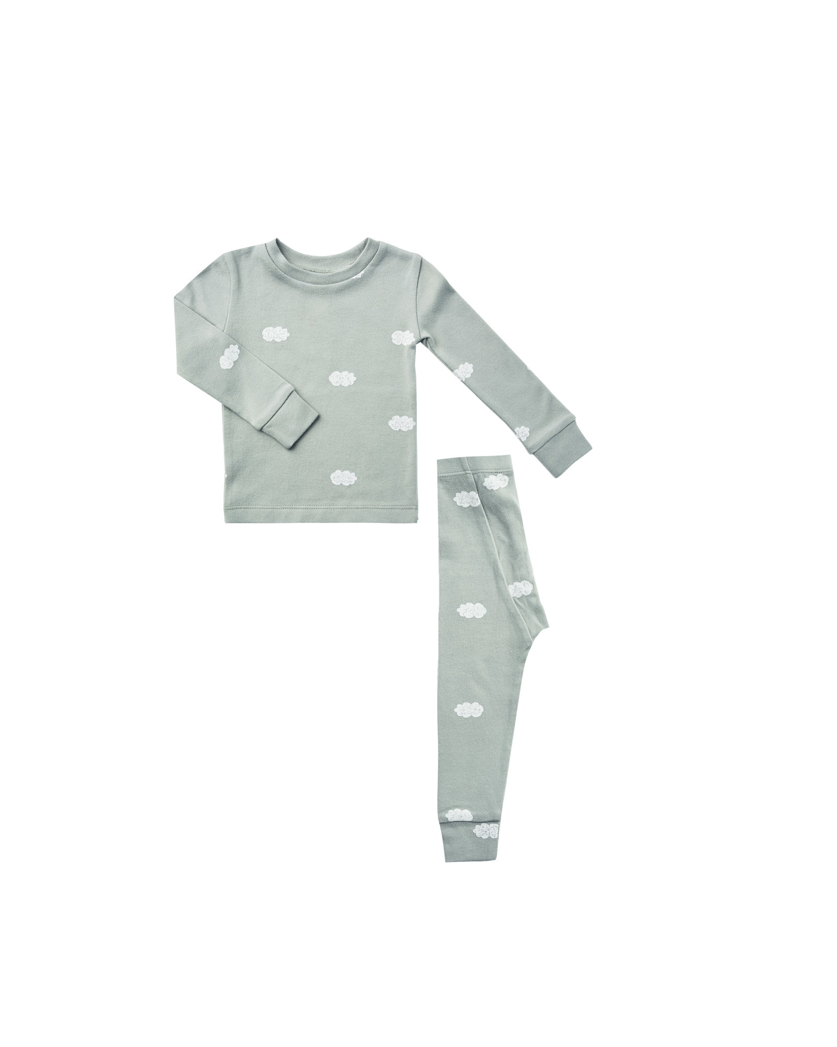 RYLEE AND CRU Clouds Pajama Set