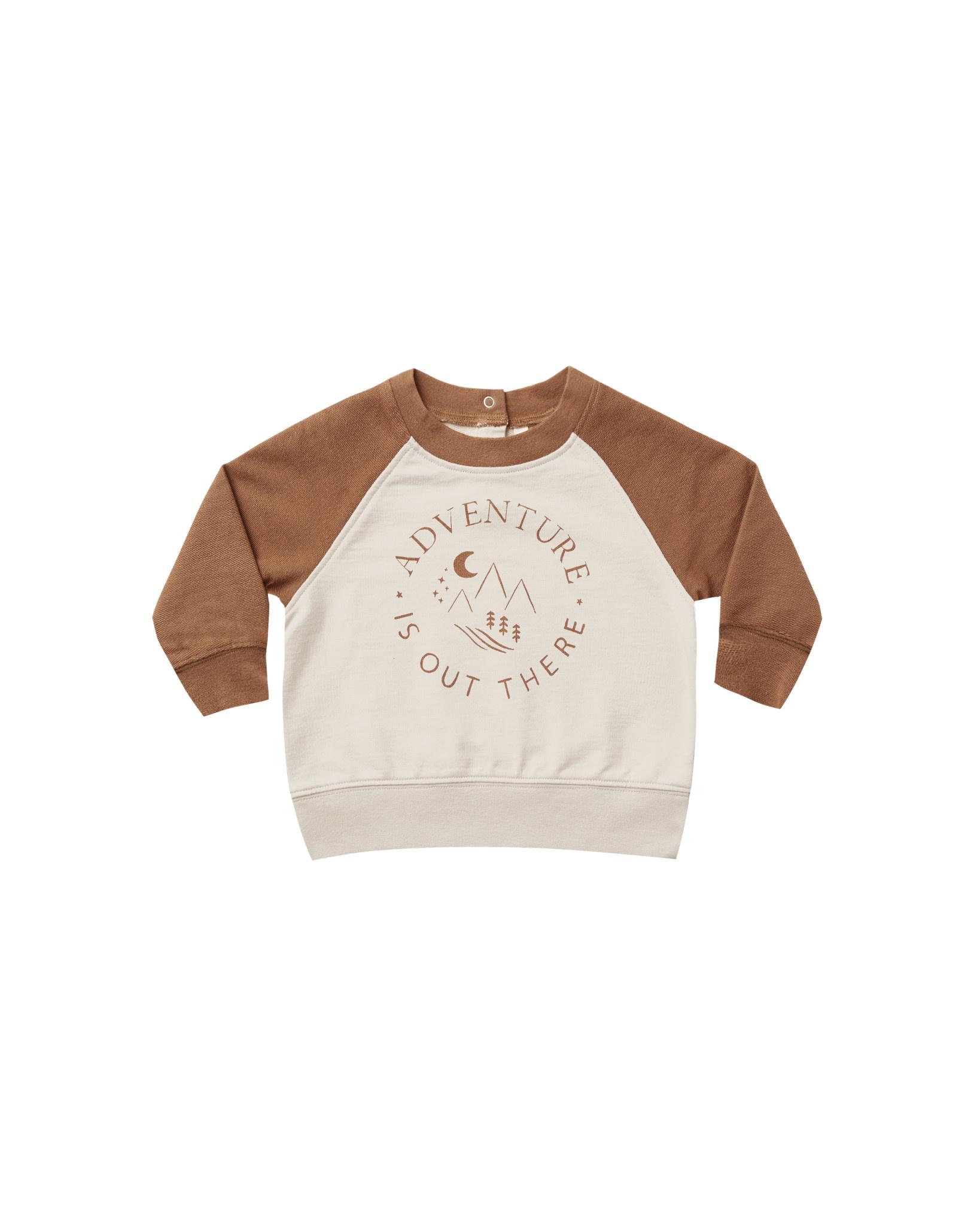 RYLEE AND CRU Adventure Raglan Sweatshirt
