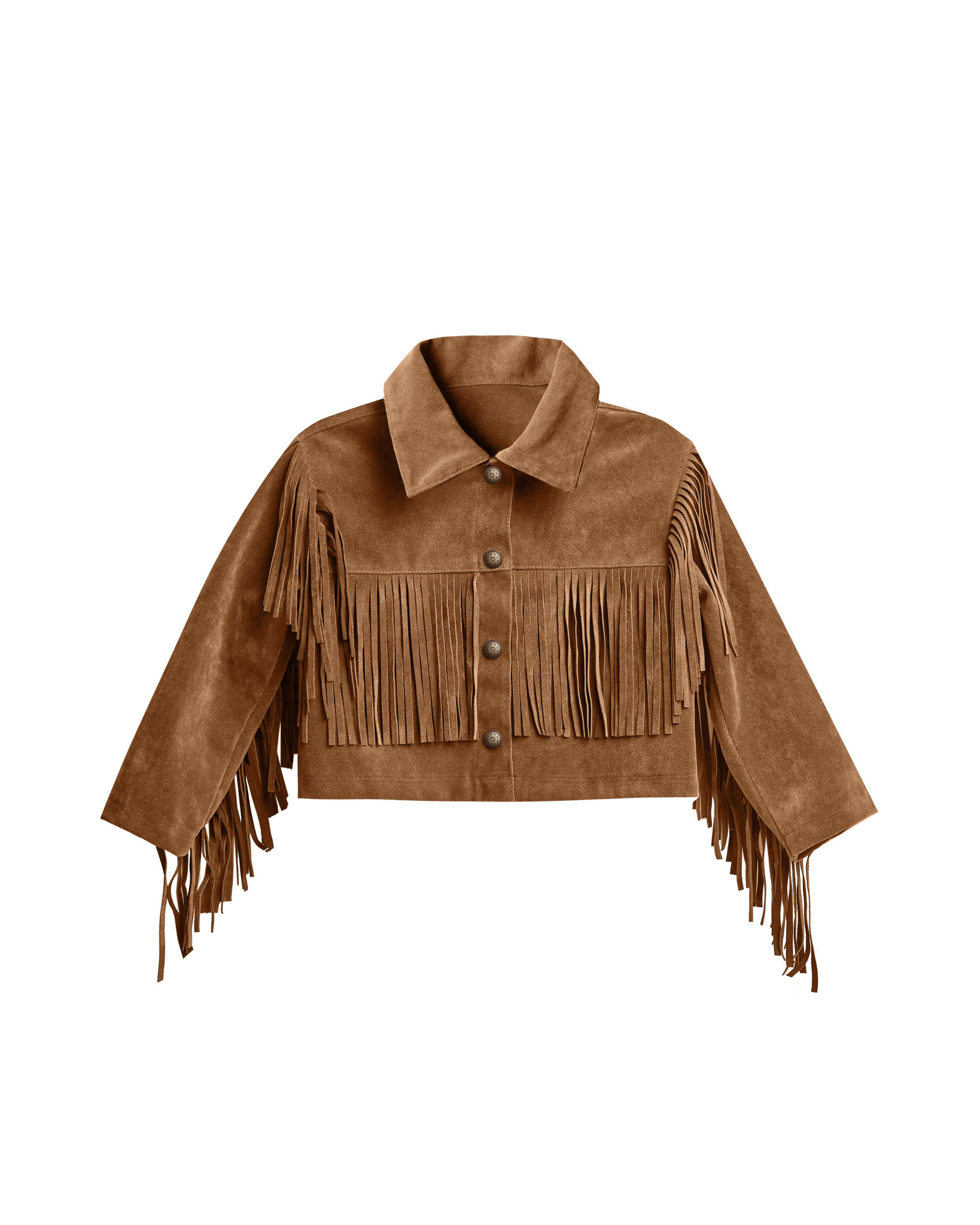 RYLEE AND CRU Fringe Jacket