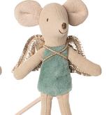 MAILEG Fairy Mouse - Teal