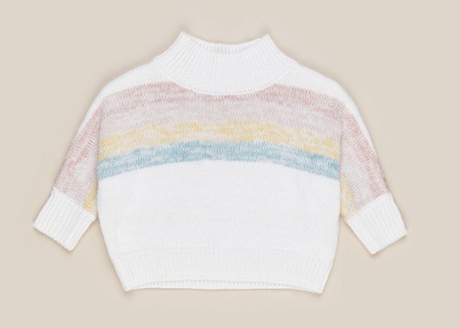 HUX BABY Over The Rainbow Knit Jumper
