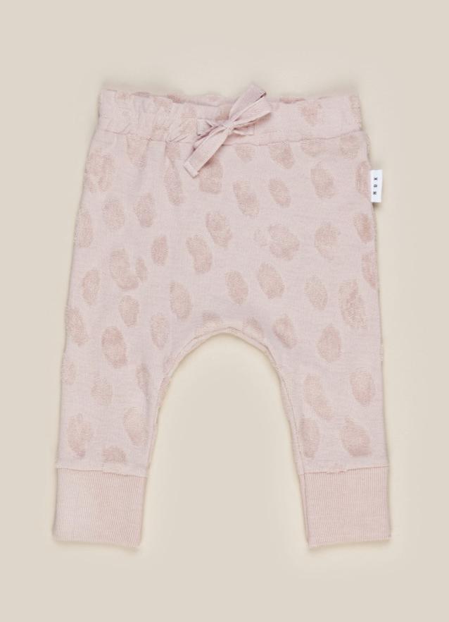 HUX BABY Rose Animal Play Pant