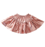 PINK CHICKEN Alexis Lame Skirt