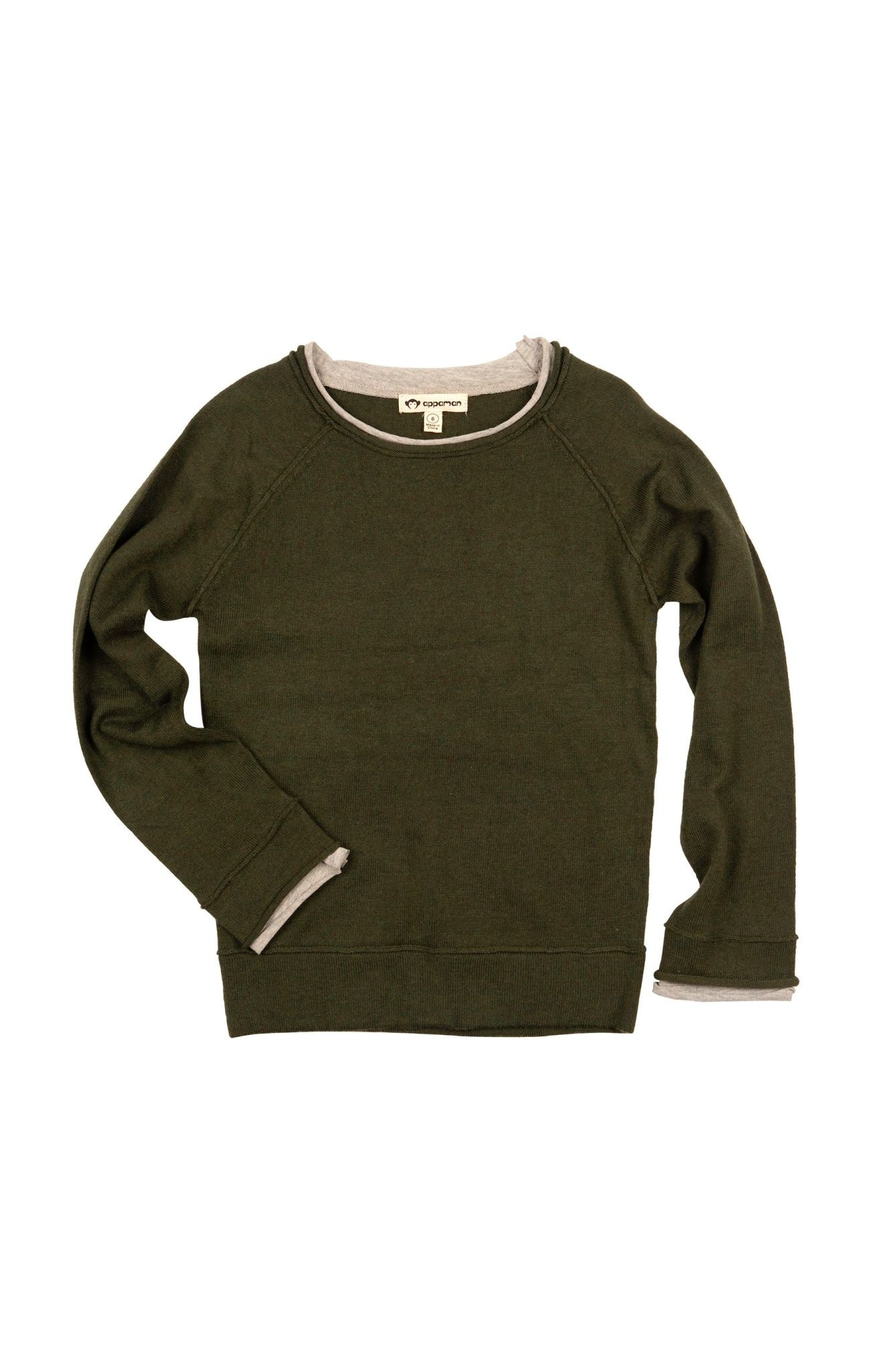 APPAMAN Jackson Roll Neck Sweater