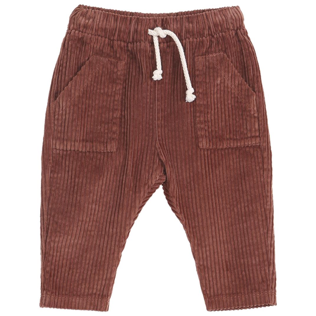 EMILIE ET IDA Sarouel Velour Trousers