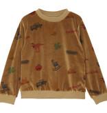 EMILIE ET IDA All Over America Sweatshirt