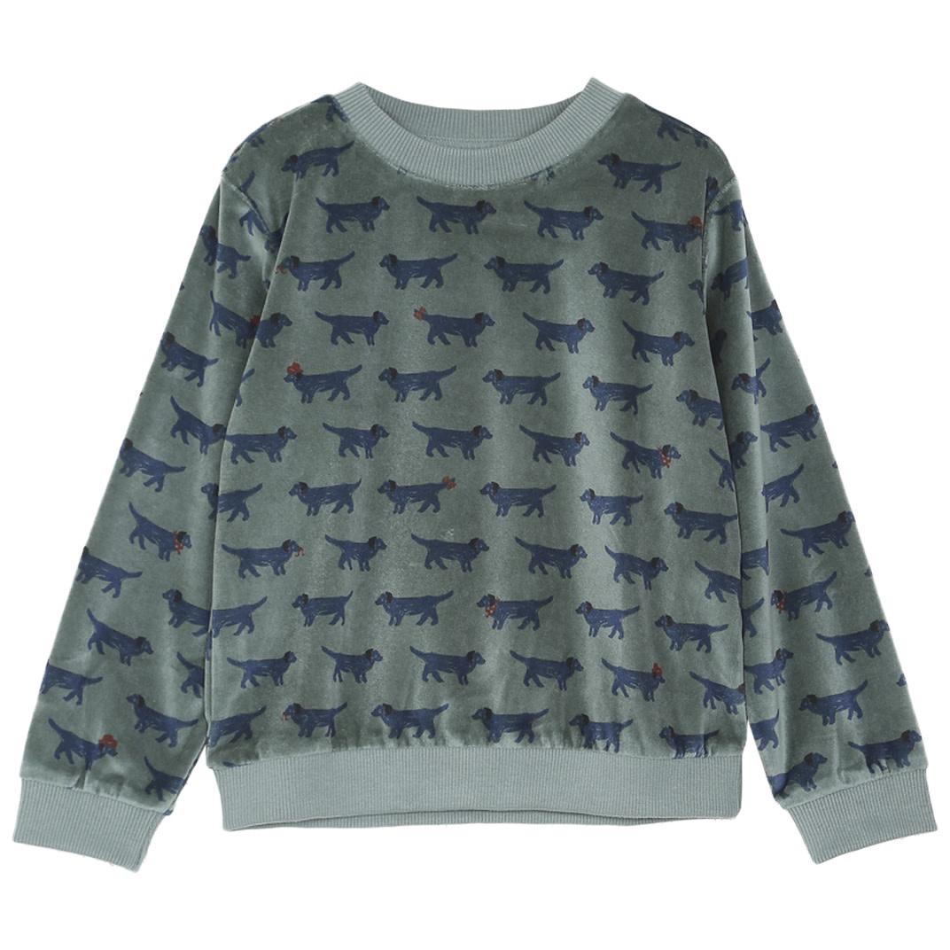EMILIE ET IDA Velours Sweatshirt