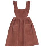 EMILIE ET IDA Tablier Velours Dress